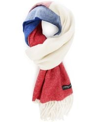 Commune De Paris 1871 | Blue/white/red Lambswool Flag Scarf Menlook 5-year Exclusive | Lyst