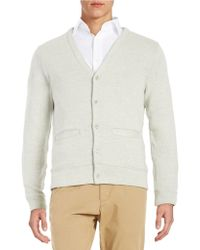 Shop Men's Brooks Brothers Red Fleece Cardigans from $70 | Lyst