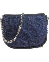 Rochas Under-Arm Bags blue - Lyst