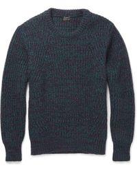 Jil Sander Cashmere Crew Neck Sweater - Lyst
