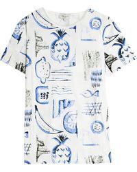 Paul & Joe Fruit T-Shirt multicolor - Lyst