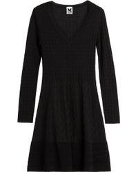 M Missoni Stretch Knit Dress - Lyst