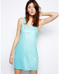 Cheap Monday Drape Back Dress - Lyst