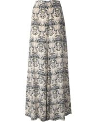Missoni Printed Wide Leg Trousers - Lyst