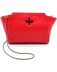 Pour La Victoire Elie Mini Cross Body Bag - Scarlet - Lyst