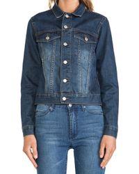Cheap Monday Vital Denim Jacket - Lyst