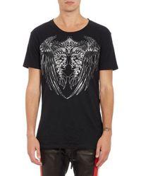 Balmain Black Mirror-chieftain T-shirt - Lyst