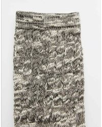 ABS By Allen Schwartz   Abs Slub Yarn Knee High Sock   Lyst