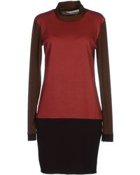 Jucca Short Dress red - Lyst