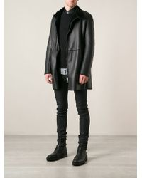 CoSTUME NATIONAL - Zip Coat - Lyst