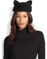 Eugenia Kim Caterina Cat Ear Hat - Lyst