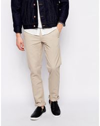Cheap Monday Chinos In Slim Fit - Lyst