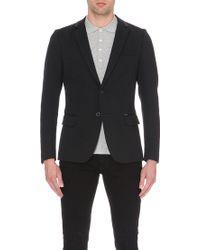 Diesel J-Daniel Ribbed-Collar Cotton-Piqué Jacket - For Men black - Lyst