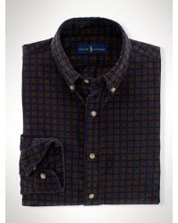 Polo Ralph Lauren Foulard-Pattern Corduroy Shirt - Lyst