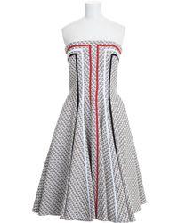 Thom Browne Tweed Jacquard Dress - Lyst