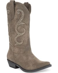 American Rag Dawnn Cowboy Boots - Lyst