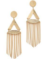 Rachel Zoe - Tassel Earrings - Lyst