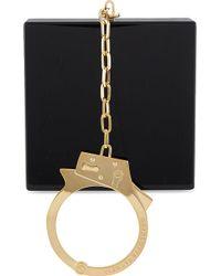 Charlotte Olympia Kinky Handcuff Clutch Black - Lyst