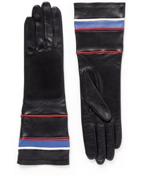 Givenchy Nautical Lamb Leather Gloves - Lyst