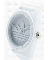 adidas Originals - Large Santiago Watch In White - Lyst