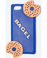 Zara Blue Bagel Cover - Lyst