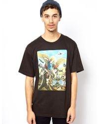 KR3W X Winston Smith Tshirt - Black