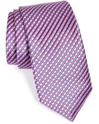 Michael Kors 'Nattie Neat' Woven Silk Tie - Lyst