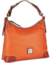 Dooney & Bourke Zipper Hobo Bag - Lyst
