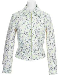 Olympia Le-Tan Jacket multicolor - Lyst