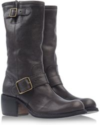 Fiorentini + Baker Gray Tall Boots - Lyst