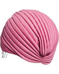Asos Veil Turban Hat - Lyst