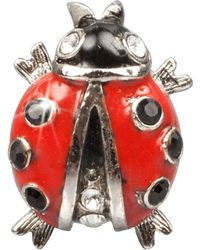 Jay Strongwater - Red Ladybug Tack Pin - Lyst