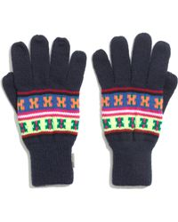 Madewell - Penfield® Neon Pattern Gloves - Lyst