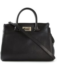 Max Mara Classic Leather Tote - Lyst