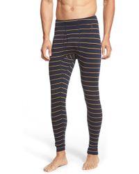 Smartwool - Stripe Merino Wool Thermal Pants - Lyst
