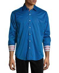Robert Graham Trinity Striped Sport Shirt - Lyst