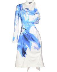 DSquared2 White Short Dress - Lyst