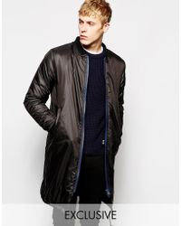 Brixtol Parka In Nylon Thermal Lined Exclusive - Black