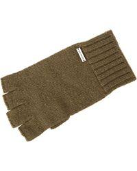 Michael by Michael Kors Soft Wool Fingerless Gloves - Lyst