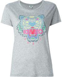 KENZO   'tiger' T-shirt   Lyst