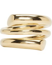 Maiyet - Gold Coiled Ring - Lyst