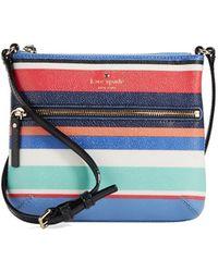 Kate Spade Tenley Striped Crossbody Bag - Lyst