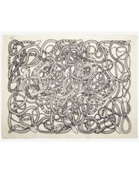 Barbara Bui - Serpent Print Scarf - Lyst