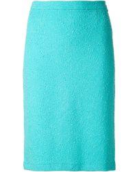 Moschino Cheap & Chic Bouclé Skirt - Lyst