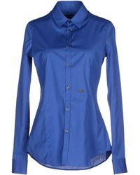 DSquared² Shirt blue - Lyst