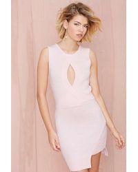 Nasty Gal Stylestalker New Chic in Town Sweater Dress - Lyst