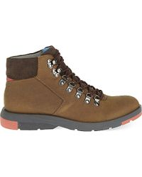 Anthony Miles Rushholme Hiking Boots - Brown