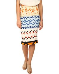 Vivienne Westwood Anglomania Basic Pencil Skirt - Lyst