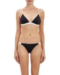 Solid & Striped Morgan Triangle Bikini Top - Lyst