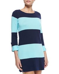 Tommy Bahama Bold-striped Sweater W Rolled Sleeves - Lyst